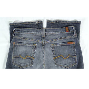 7 FOR ALL MANKIND JEANS (SZ 29) KIMMIE CUT